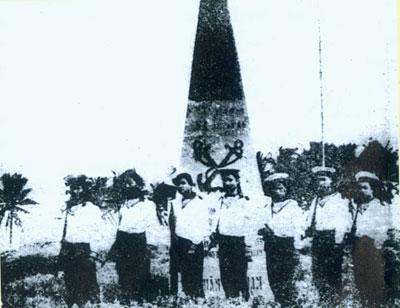 Viet Nam's Navy on Song Tu Tay (Truong Sa archipelago)